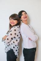 Marcela Trujillo y Karolina Lama