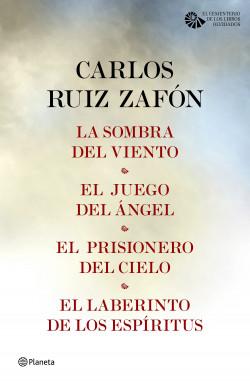Tetralogía El Cementerio De Los Libros Olvidados Pack Carlos Ruiz Zafón Planeta De Libros