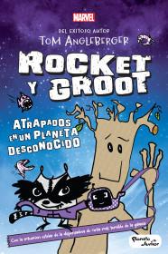 Rocket y Groot. Atrapados en un planeta desconocido